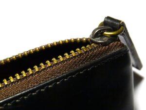 財布 ファスナー